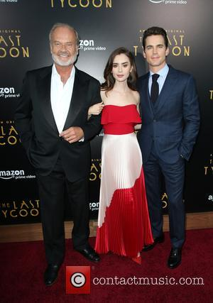 Kelsey Grammer, Lily Collins and Matt Bomer