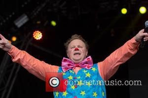 Mr Tumble and Justin Fletcher
