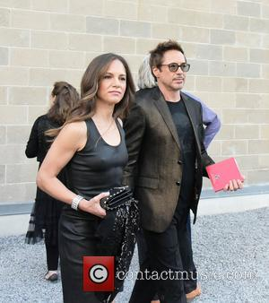 Susan Levin and Robert Downey Jr.