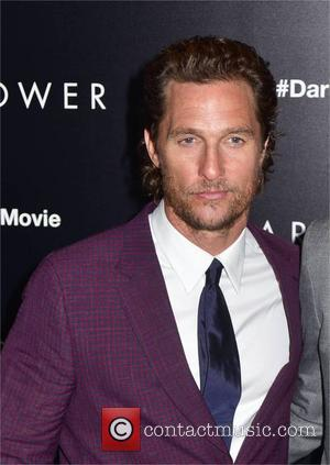 Matthew McConaughey and Idris Elba at the New York premiere of 'The Dark Tower' held at the Museum of Modern...