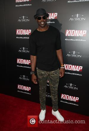 Terrell Owens at the premiere of