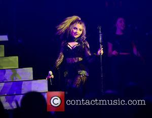 Sabrina Carpenter performing on 'The De-Tour' at the Jackie Gleason Theatre - The Fillmore, Miami Beach, Florida, United States -...