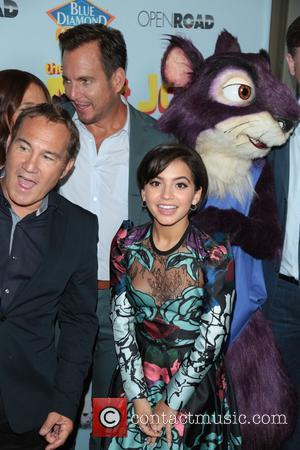 Will Arnett and fellow cast members at the premiere of 'The Nut Job 2: Nutty by Nature' held at Regal...