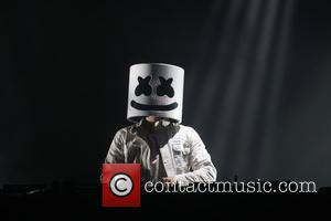 Marshmello on Day 2 of the 2017 Billboard HOT 100 Music Festival, held at Northwell Health at Jones Beach Theater...