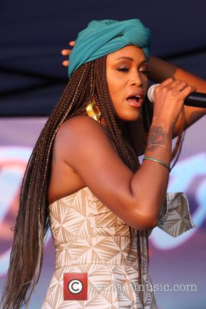 Eve performing at the District Community Day - Philadelphia, Pennsylvania, United States - Sunday 20th August 2017