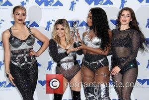 Fifth Harmony, Dinah Jane, Ally Brooke and Normani Kordei at The Forum