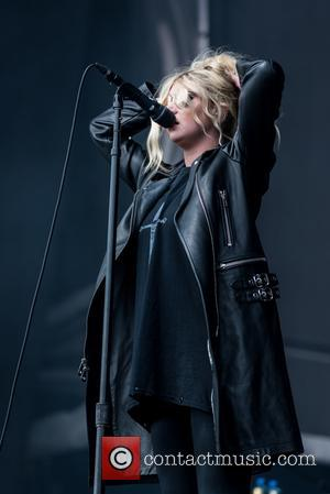 Taylor Momsen of The Pretty Reckless performing at Leeds Festival 2017 on day three at Bramham Park - Leeds, United...