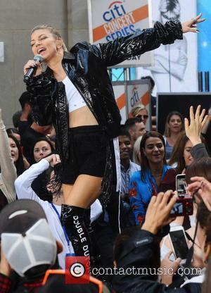 Fergie - Fergie performs on the Today Show Concert Series in NYC - NYC, New York, United States - Friday...