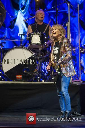 The Pretenders, Martin Chambers and Chrissie Hynde