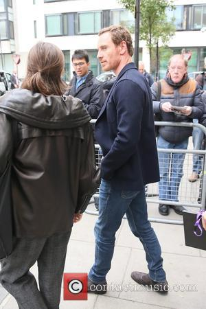 Michael Fassbender seen leaving Radio 2 - London, United Kingdom - Tuesday 3rd October 2017