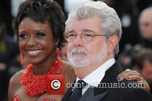 FILE PHOTO Star Wars creator George Lucas is a married man after exchanging vows with his longtime girlfriend. The movie...