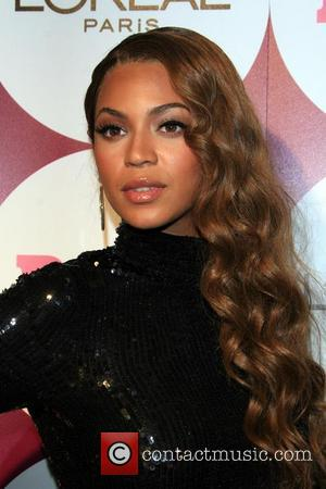 Beyonce Knowles and Beverly Hills Hotel