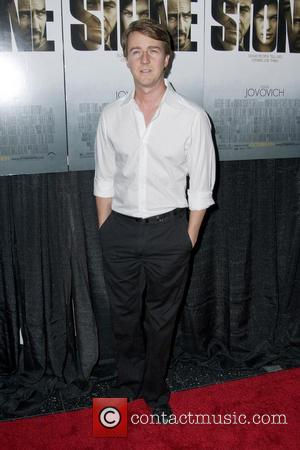 Edward Norton New York Premiere of 'Stone'at MOMA - Arrivals  Featuring: Edward Norton Where: New York City, United States...