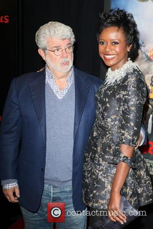 GEORGE LUCAS WELCOMES A DAUGHTER VIA SURROGATE - REPORT STAR WARS creator GEORGE LUCAS has become a new dad at...