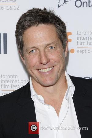 Hugh Grant 'Cloud Atlas'  premiere arrival at the Princess of Wales Theatre during the 2012 Toronto International Film Festival....