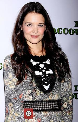 Katie Holmes, Wednesday Dec, Bottega Veneta and Gotham Hall