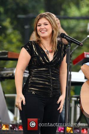 Kelly Clarkson performing live on 'Good Morning America's Summer Concert Series' at Rumsey Playfield  Featuring: Kelly Clarkson Where: New...