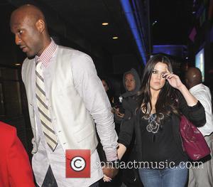 Khloe Kardashian, Lamar Odom, Katsuya, Hollywood, Los Angeles Lakers and Clippers