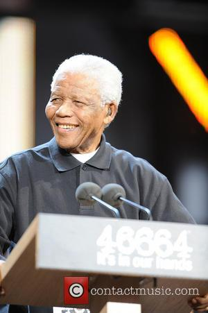 Nelson Mandela has died  Nelson Mandela appearing at the '46664' concert honouring his 90th birthday at Hyde Park London,...