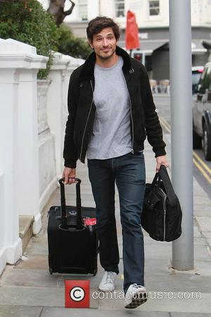Andres Velencoso leaving his girlfriend Kylie Minogue's house London, England - 16.02.11  Featuring: Andres Velencoso Where: London, United Kingdom...