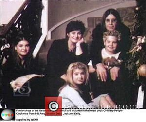 Family, Osbourne, Ordinary People. Clockwise, L-r, Amy, Sharon, Ozzy, Jack and Kelly