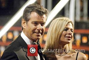 Pierce Brosnan, Charlotte and Odeon Leicester Square