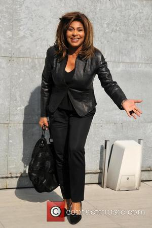 Tina Turner Milan Fashion Week A/W 2011 - Armani - Outside arrivals Milan, Italy - 26.02.11 **Available for publication in...