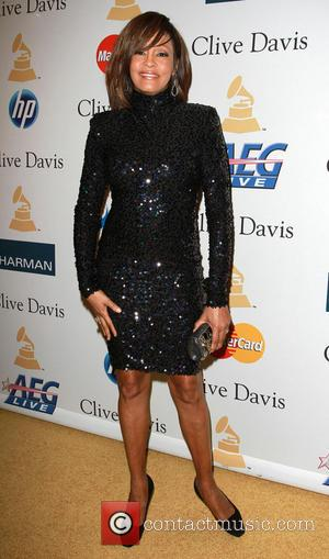 Whitney Houston 2011 Pre-Grammy Gala and Salute to Industry Icons honoring David Geffen - Arrivals Los Angeles, California - 12.02.11...