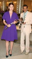 Debra Messing and Phillip Bloch