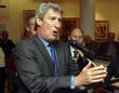 jeremy paxman 20th british art fair opening at the