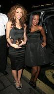 Amelle Berrabah and Keisha Buchanan VIP screening of...