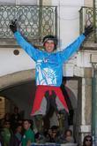 Emanuel Pombo (POR) winner of the Best Portuguese racer