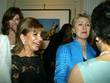 Hilary Clinton and guests Mary Steenburgen was honored...