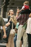 Heidi Klum and Nathan Lane