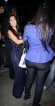 Kim Kardashian and her sister Kourtney Kardashian