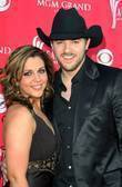 Adrianne Leon and Chris Young 42nd Annual ACM...