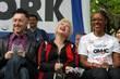 Alan Cumming, Cyndi Lauper and Dr. Marjorie Hill...