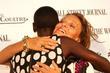 Alek Wek and Diane von Furstenberg Launching of...