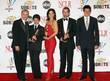 (L-R) Tony Plana, Mark Indelicato, Ana Ortiz, James...