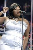 LaKisha Jones  performing at American Idols Live...