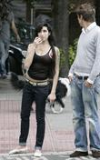 Amy Winehouse and Friends Out In Camden