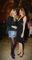 Olivia Inge and sister Launch of' Anahita World...