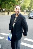 David Gest shopping at Carluccio's London, England