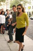 Angelina Jolie picks up Maddox Jolie-Pitt from Lycee...