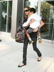 Angelina Jolie and Maddox