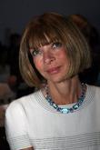 Anna Wintour Mercedes-Benz Fashion Week New York Spring...
