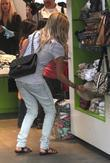 Ashley Tisdale and her mother shopping in Kitson on Robertson Blvd.