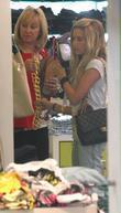 Ashley Tisdale and her mother Lisa shopping in Kitson on Robertson Blvd.