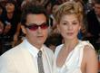 Joe Wright and Rosamund Pike