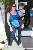 Melissa Joan Hart and her son